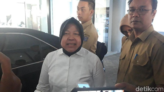 Wali Kota Surabaya Tri Rismaharini. (Foto: Hilda Meilisa Rinanda)
