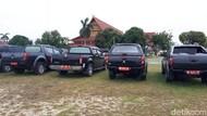 150 Mobil Dinas Masih Dikandangkan di Rumdin Gubernur Riau