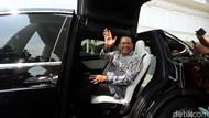 Mobil Listrik Tesla Antar Bamsoet ke Istana