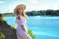 Danau Maldives yang terkenal di Rusia.