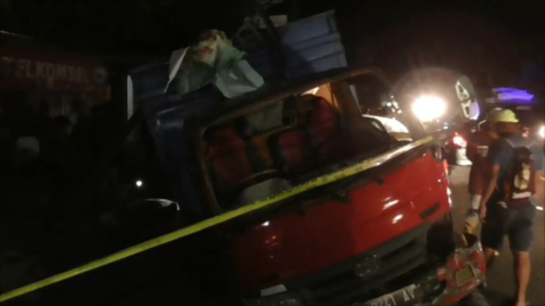 Empat Orang Anak di Mamuju Tewas Ditabrak Truk