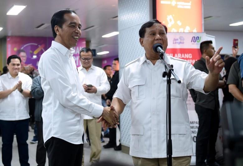 Prabowo Pastikan Hadiri Pelantikan Presiden Jokowi 20 Oktober 2019