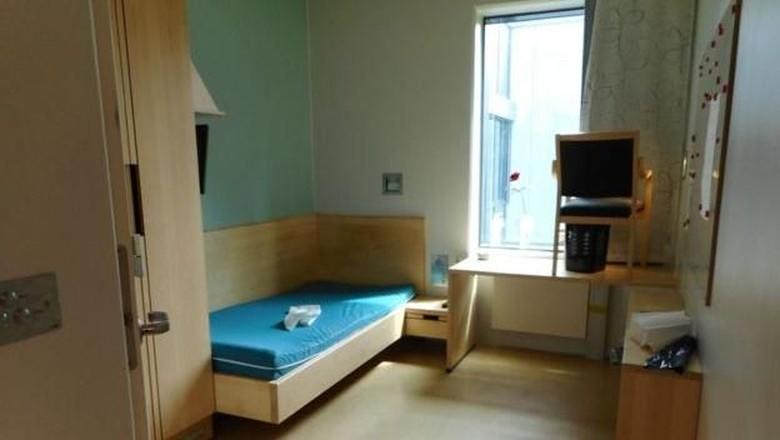 Kamar di penjara Halden (BBC)