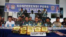 TNI AL di Kepulauan Riau Gagalkan Penyelundupan 21 Kg Sabu