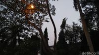 Penampakan Lampu Jalan Mati Imbas Walkot Tangerang Vs Menkum HAM