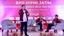 Cerita Erwin Aksa Soal Tahapan Umur Pengusaha di Forum HIPMI Jatim