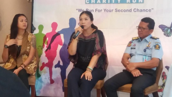 Media gathering Second Chance Charity Run 2019. Foto: Nabila Ulfa Jayanti/detikHealth