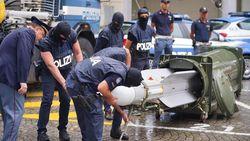 Polisi Italia Gerebek Gudang neo-Nazi, Ditemukan Rudal