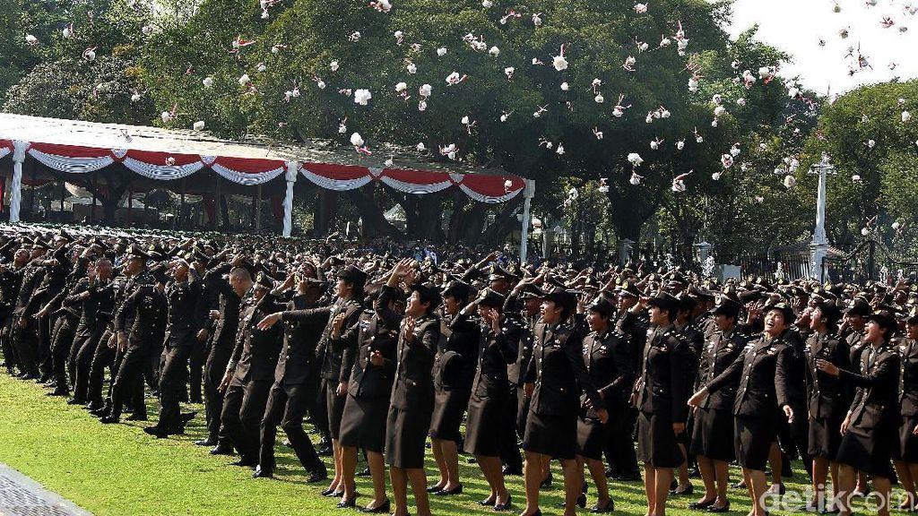 Idris, Anak Petani dan Guru Ngaji di Solok Jadi Lulusan Terbaik Akpol 2019
