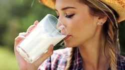 Minum Segelas Susu Saat Sarapan Bisa Bantu Turunkan Berat Badan