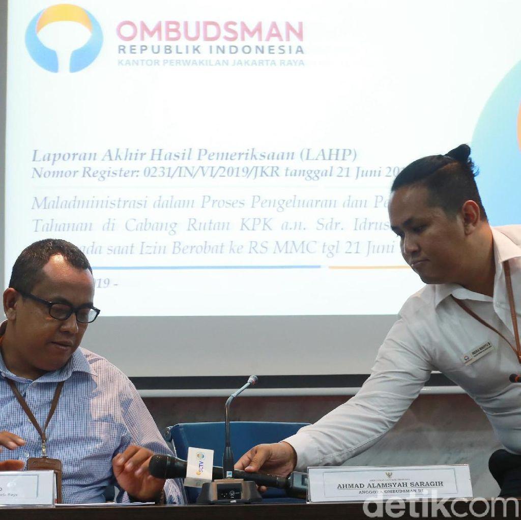 Buntut Maladministrasi, Ombudsman Minta Pimpinan KPK Tegur Para Pejabatnya