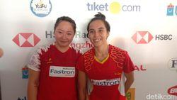 Nadya/Tiara Buka Kemenangan Tuan Rumah di Indonesia Open