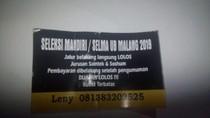 Satu Penyebar Stiker Jalur Belakang di Universitas Brawijaya Ditangkap