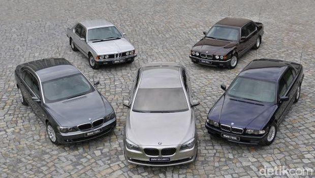 Mobil BMW High Security sejak tahun 1970-an