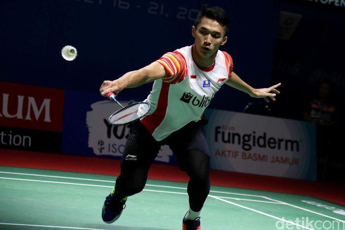 Ia sukses mengunci tiket lolos ke 16 besar Indonesia Open 2019.