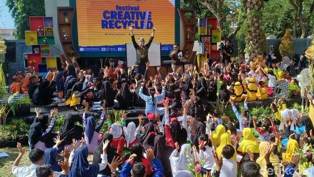 Kampanyekan Pengurangan Sampah Plastik, Festival Creative Recycle Digelar