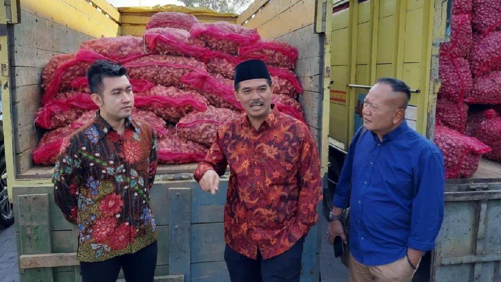 RI Ekspor 1.000 Ton Bawang Merah ke Singapura hingga Thailand