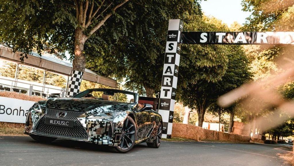 Lexus Pastikan Produksi Mobil LC Versi Telanjang