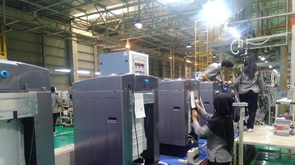 Dari Thailand, Sharp Relokasi Pabrik Mesin Cuci ke Karawang