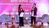 Rakerda HIPMI, Menteri Rini dan Dirut Nyanyi Bareng Suarakan Sinergi BUMN