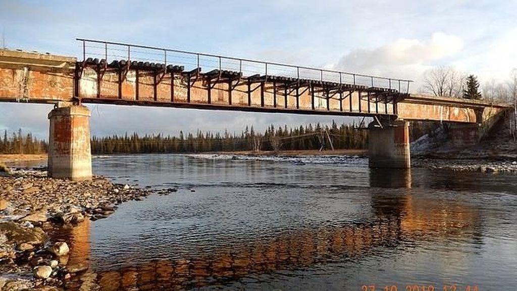Bukan Sulap Bukan Sihir, Jembatan Seberat 56 Ton di Rusia Hilang