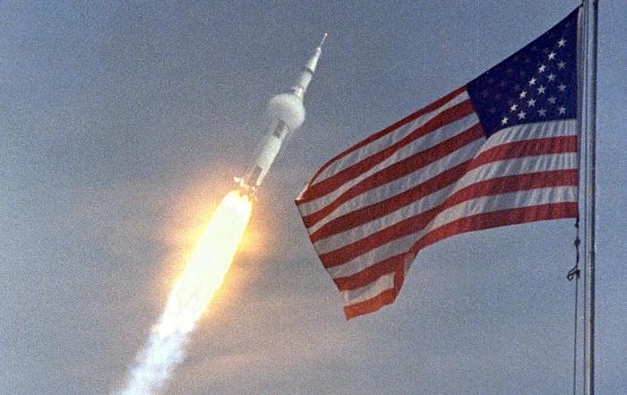 Penerbangan Apollo 11 50 tahun silam. Foto: NASA