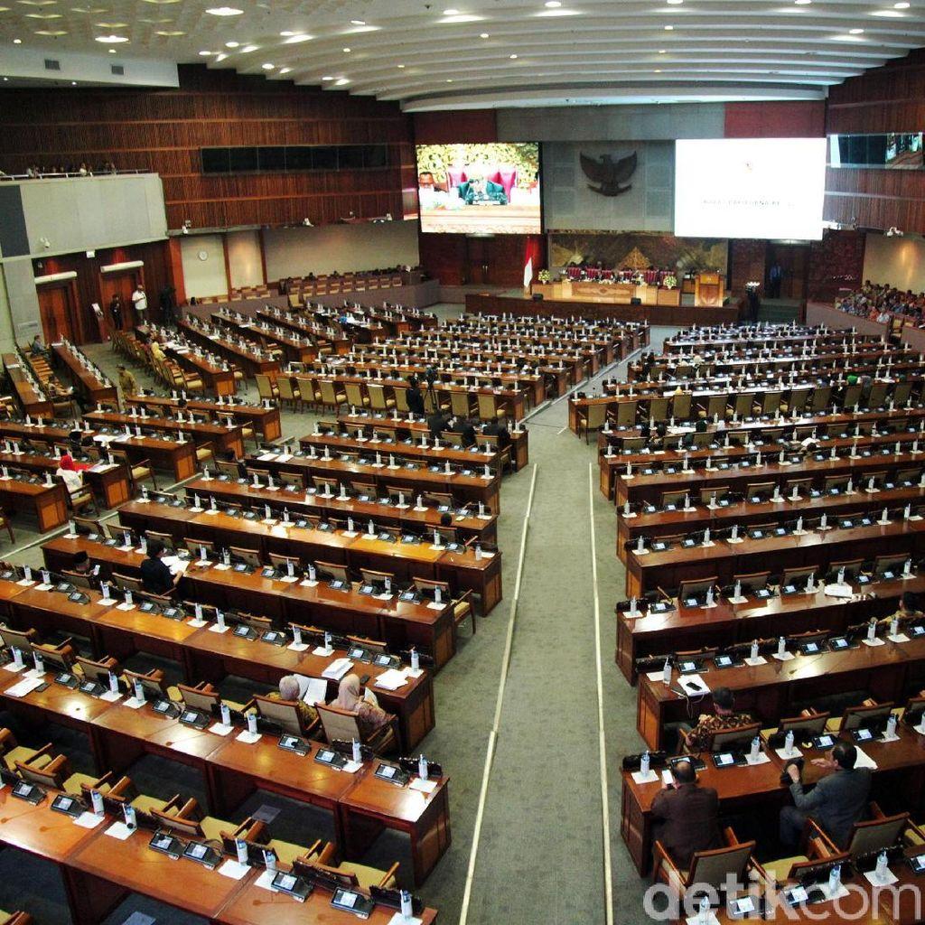 Sepi, Paripurna DPR Hanya Dihadiri 85 Anggota