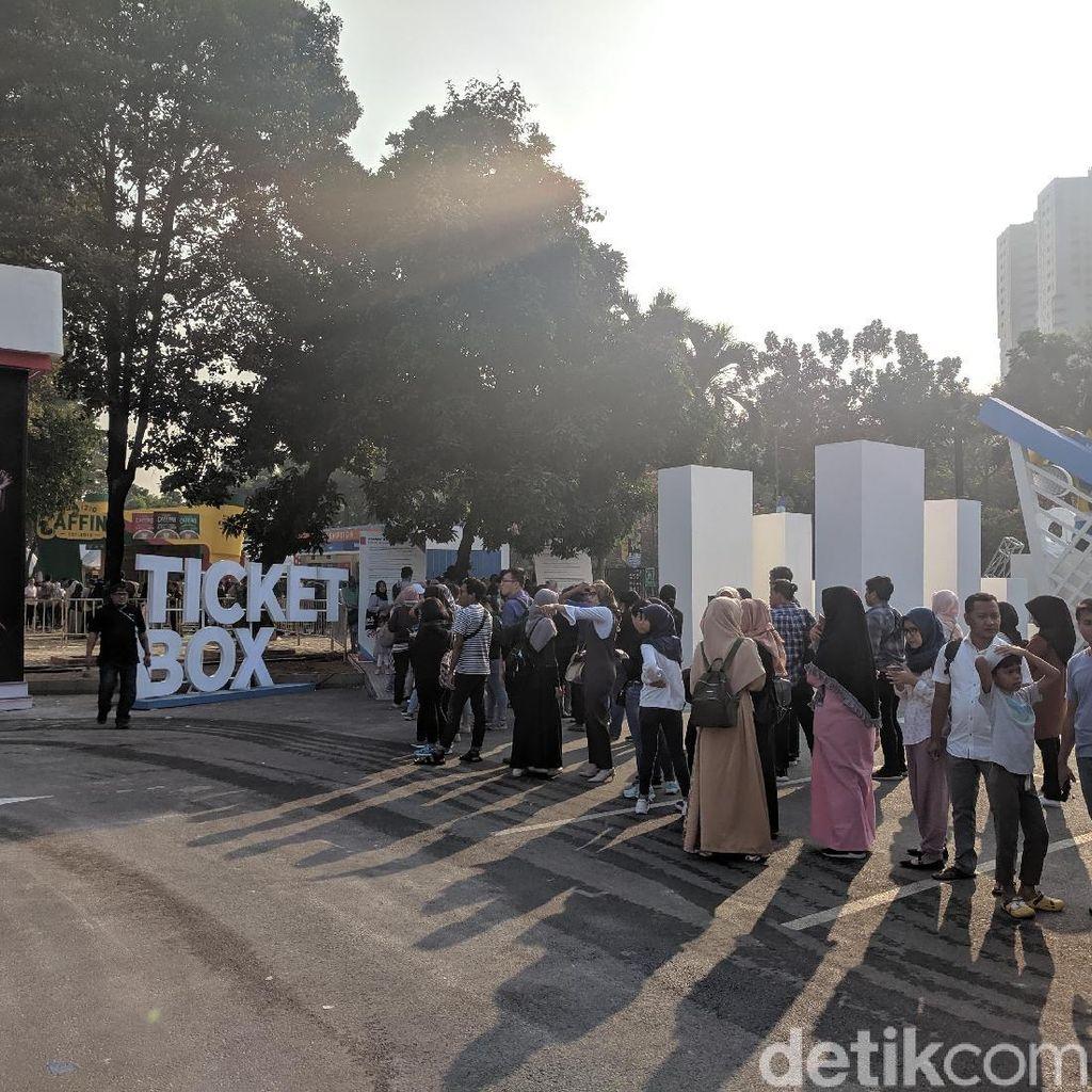 Tiket Mahal, tapi Antrean Penonton Indonesia Open Mengular Sejak Pagi