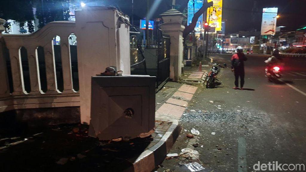 Ini Lokasi Bus Rombongan Haji Sukabumi Tabrak Pagar dan Tewaskan Bocah SD