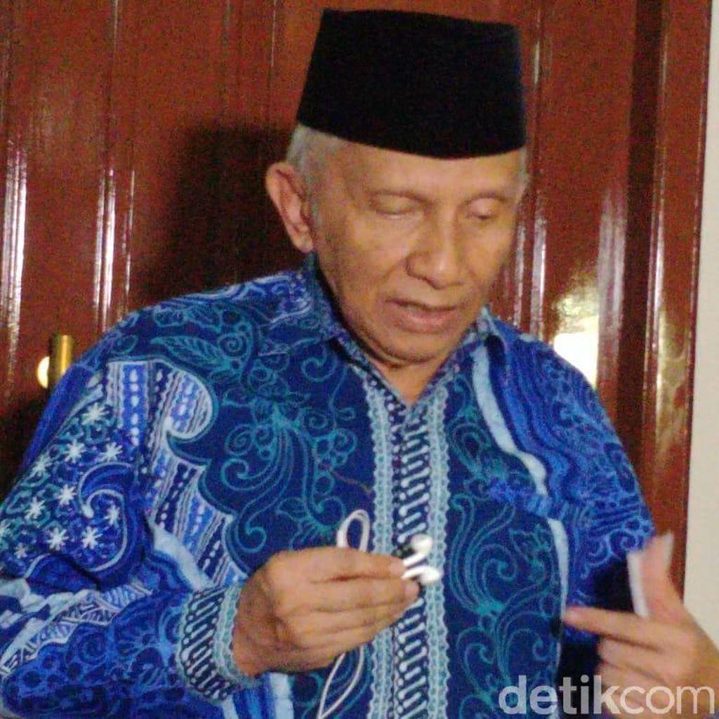 Amien Beri Kesempatan ke Jokowi, Hanafi Rais: Berdemokrasi dengan Etik