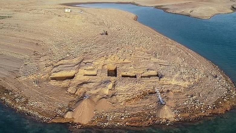 Reruntuhan istana berumur 3.400 tahun di Irak (dok. Univesity of Tubingen)