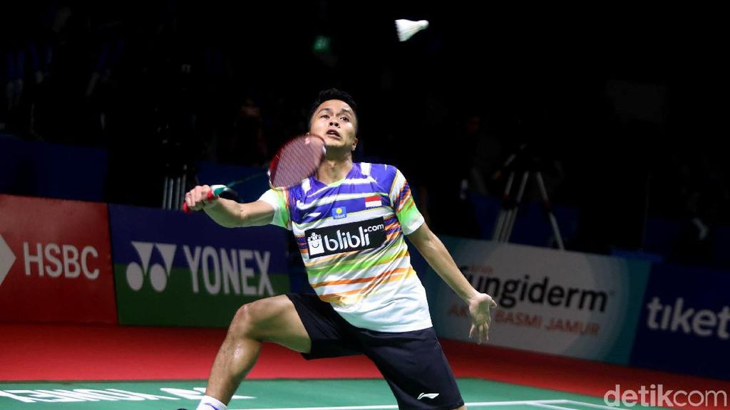 Menang Dramatis di Babak Pertama Indonesia Open, Anthony Ginting: Puji Syukur