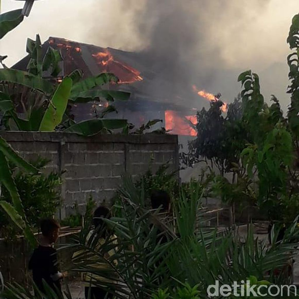 Sebuah Kandang di Bojonegoro Terbakar, 14 Kambing Mati Terpanggang
