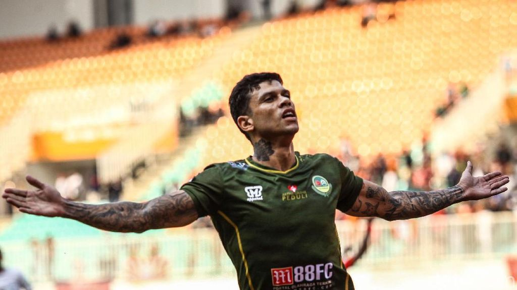 Ciro Alves Pemain Paling Sering Terlibat Gol di Liga 1 2019