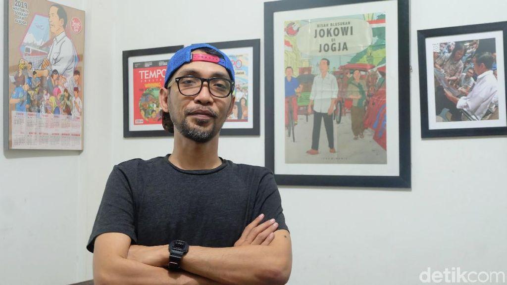 Eksklusif! Cerita Di Balik Komik Jokowi