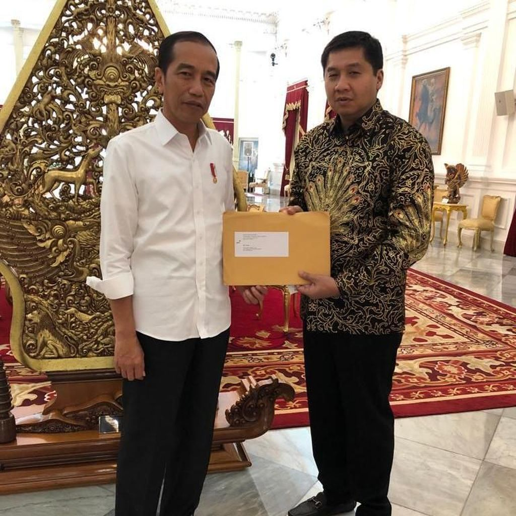 Jokowi Terima Laporan dan Audit Piala Presiden 2019