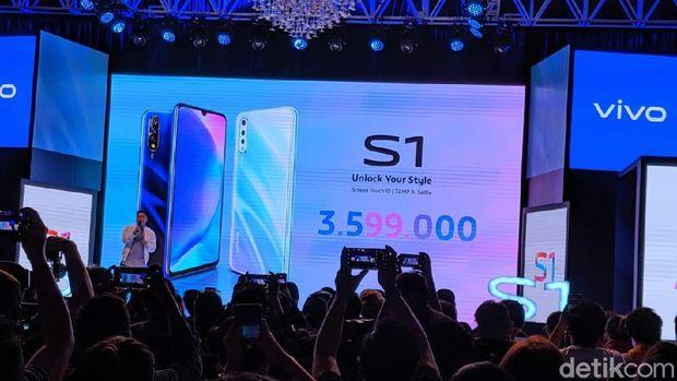Ini Harga Vivo S1, Ponsel yang Bidik Anak Muda
