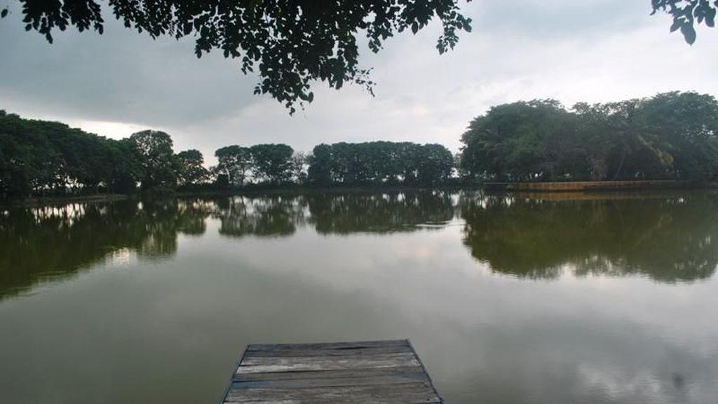 Turnamen Memancing Ramaikan Festival Tasikardi di Serang