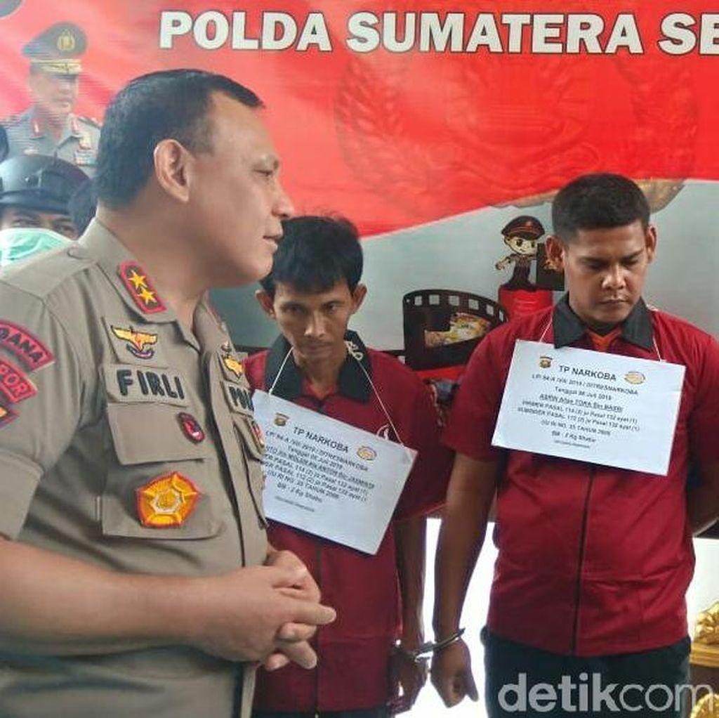 Polisi Tangkap 4 Bandar Sabu Jaringan Aceh di Sumsel