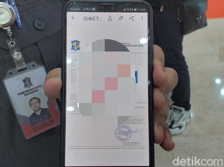 Dispendukcapil Surabaya Keluarkan 16 Ribu Virtual Certificate