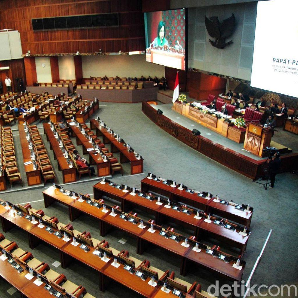 DPR Kembali Gelar Rapat Paripurna Hari Ini