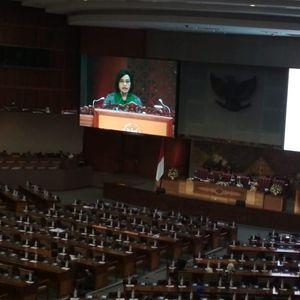 Sri Mulyani Tanggapi Pandangan DPR soal RUU APBN 2018