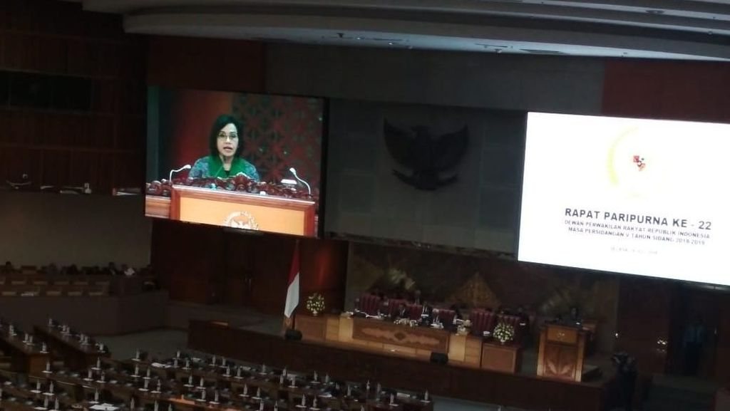 Sri Mulyani Lapor Realisasi APBN ke DPR