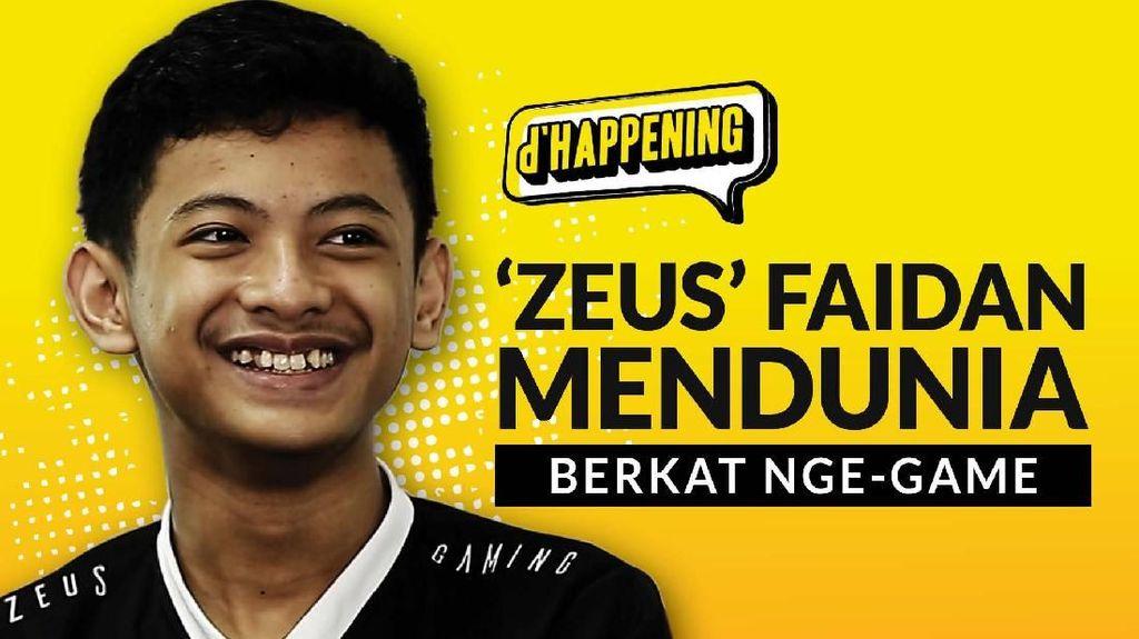 dHappening: Zeus Faidan Mendunia Berkat Nge-game