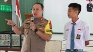 Hari Kedua Sekolah, Polres Tuban Sosialisasi Bahaya Narkoba ke Pelajar