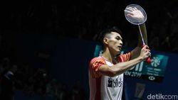 Lewati Babak Pertama Japan Open, Jonatan Masih Sulit Kontrol Keunggulan