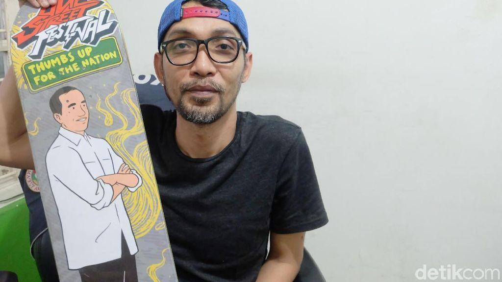 Hari Prast, Sosok di Balik Komik Jokowi dan Karya Adalah Doa