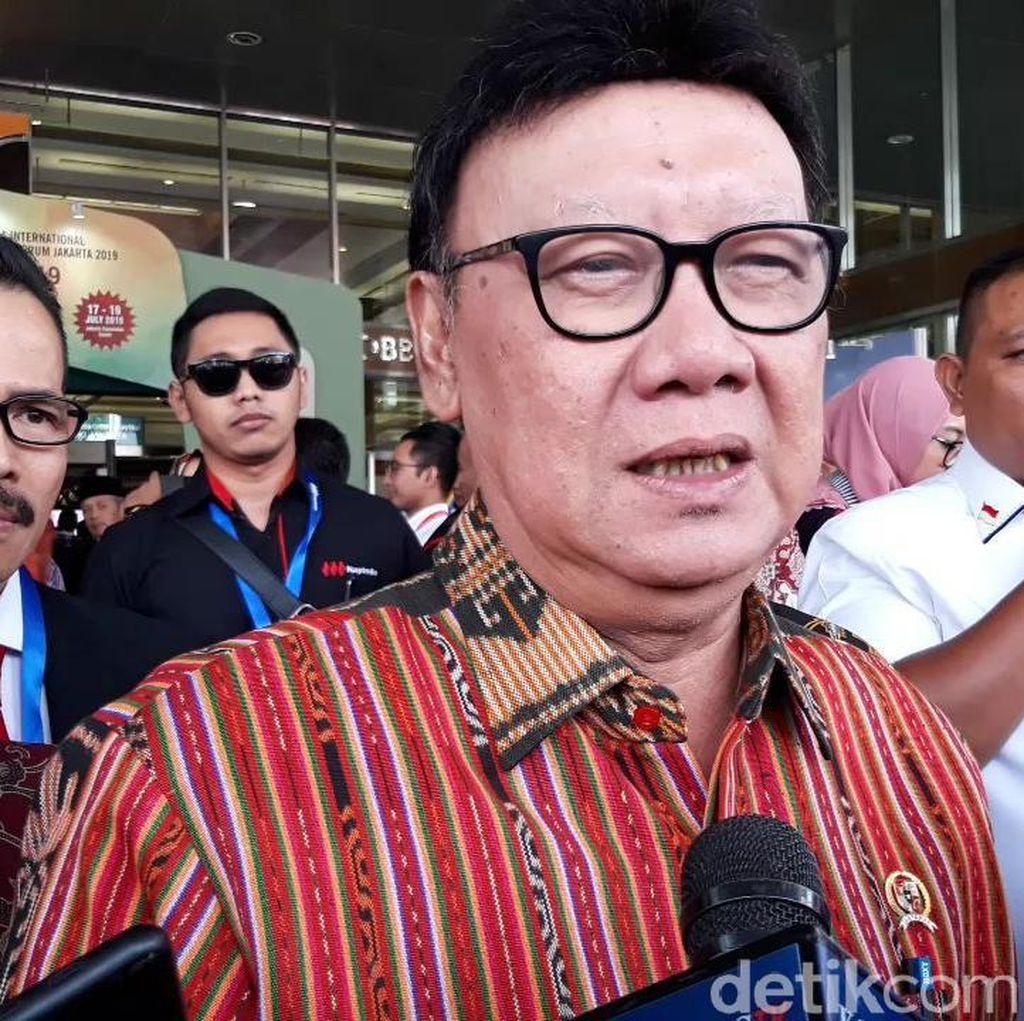 Walkot Tangerang Ribut dengan Menkum HAM Yasonna, Mendagri: Tak Elok