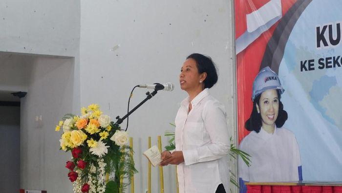 Menteri BUMN Rini Soemarno/Foto: Ardian Fanani/detikcom