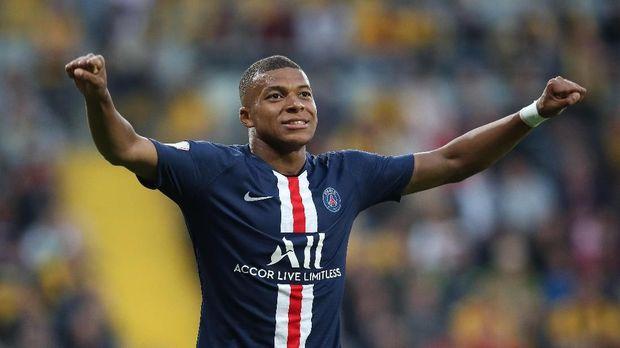Kylian Mbappe memiliki kontrak di PSG hingga 2022.